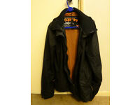 Superdry Men's Black Jacket in Great Condition