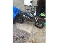 50cc quad 125cc pit bike and ram 170 in a cr 125 frame