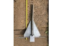Boat Anchors 1 New £20, 1 Used £10,4KG Danforth