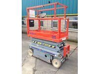 SKYJACK 25FT ELECTRIC SCOMPACT SCISSOR LIFT / GENIE CHERRY PICKER BOOMS FOR SALE