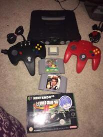 Nintendo n64 bundle console