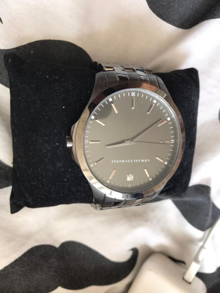 Armani exchange watch no scratches good conditionin East Ham, LondonGumtree - Cheap Armani exchange watch with adjustable links selling it for £60Contact me 07583877380