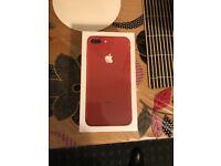 iphone 7plus 128 gb red