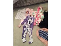 Big bundle of girls clothes and shoes in excellent condition.