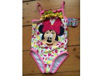 Minnie Mouse swimming costume, Disney store, new with the label still attached, size 2-3 years