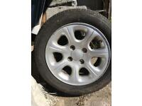 185/55 R14 Tyres and Alloys