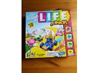 Board game. The game of life junior