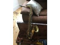 Yamaha YTS23 Tenor Saxophone, Great first time/gigging horn, complete with hard case & spare reeds