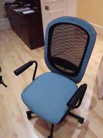Swivel Chair Ikea Flintan/Nominell