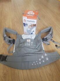 Ergobaby Original carrier and infant insert