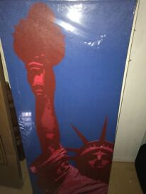 Brand new - New York Statue of Liberty canvas