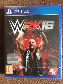 WWE W2K16 for PS4 - New & sealed