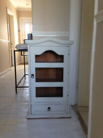 Solid wood small cabinet / cupboard