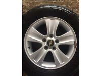 Chevrolet Captiva Alloy Wheel Vauxhall antara spare Wheel