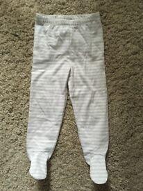 Little White Company leggings 9-12 months