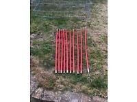 Drain clearing rods