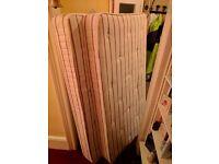 2 single mattresses - good condition