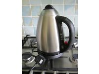 Russell Hobbs Classic Satin Montana Cordless Jug Kettle 3070, 3000 W in good working condition used.