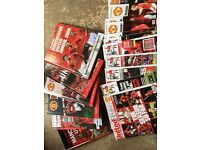 Manchester United Annuals and Programs.