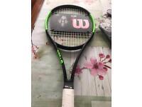 Brand new wilson tennis racquet
