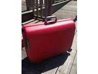 Samsonite hard shell suitcase Red