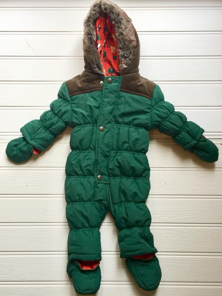Mini Club Baby Snow Suit 6-9 months
