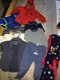 11 PIECE 12 -24 MONTH BOYS BUNDLE NEXT JOHN LEWIS SWIMBEST VEST MARKS SPENCER EXCON