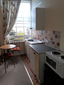 Single bedsit to rent. Torquay. £300 pcm. Off road car park. Communal garden. Close to town centre.