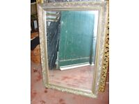 Large quality rectangular mirror