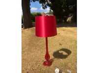 Red/pink lamp