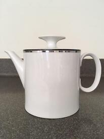 Thomas China 'Night and Day' Teapot with Lid