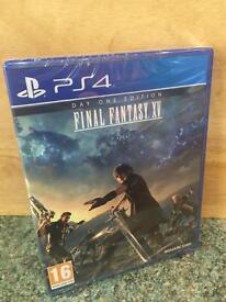 Final Fantasy XV Day One Edition - PS4- brand new