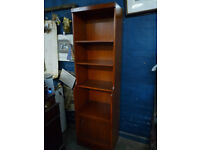 Tall Bookcase Cabinet/Cupboard Shelving Unit