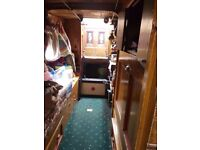 Historic live aborad narrow boat 70 ft vintage engin .599.95 price open to a good offer call