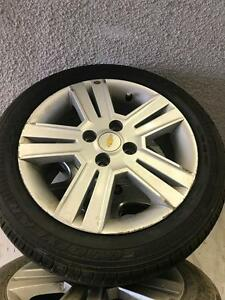 185/55/15 Goodyear Tire+Rims 90%