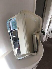 Pretty vintage style mirror