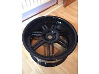 19 deep dish alloy wheels bmw 5x120