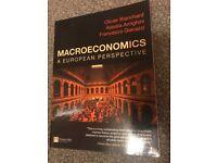 MACROECONOMICS A European Perspective (Oliver B, Alessia A, Francesco G)
