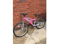 Trax TFS1 lady's full suspension mountain bike