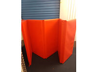 Cannons UK Foldable Double Mat 10ft x 4ft x 50mm Red - used good conditions