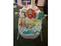Animal baby bouncer for sale great condition smoke free house pick up only