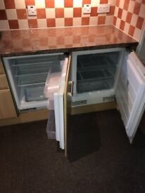 Under counter Freezer 60cm wide Excellent Condition Fully Working Fridge also available