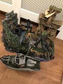 King Kong & Godzilla toy bundle