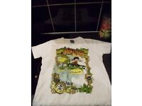 Boys Salt Rock t-shirt age 7-8 like new
