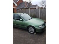 Low mileage Rover 45. Couple of DIY mechanic jobs needed for MOT. For spares or repair it.
