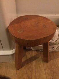 Old milking stool