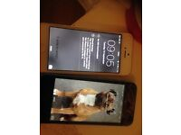 2 iPhone 5's for sale together