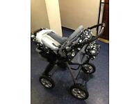 Baby buggy and car seat/carrier