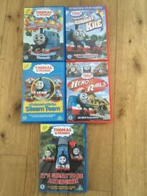 Peppa pig and Thomas the tank DVDs