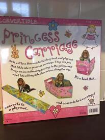 Convertible princess carriage book